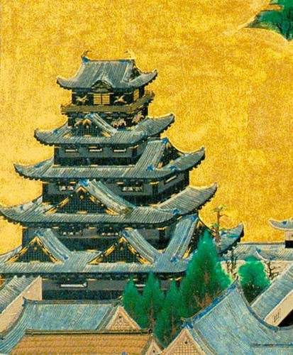 Osaka_Castle_Keep_tower_of_「A_figure_of_camp_screen_of_the_Osaka_summer」[1].jpg